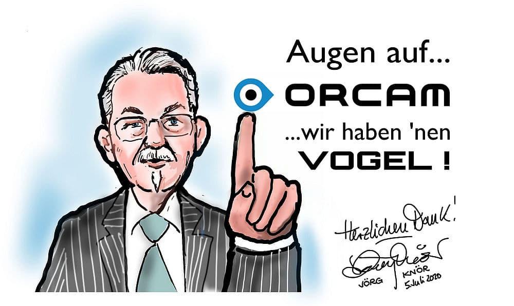 Danke Enno Vogel OrCam