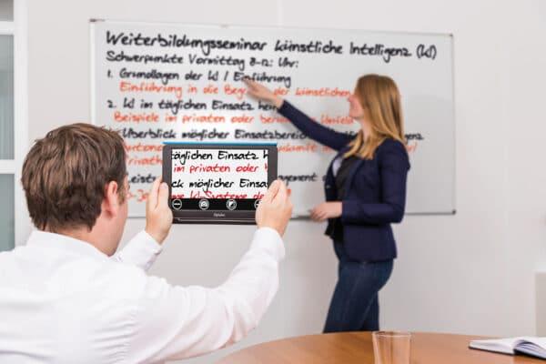 Optelec Compact 10 HD lesen von Tafel und Whiteboard