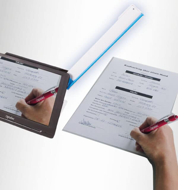 Optelec Compact 10 HD lesen Vertrag unterschreiben