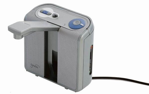 Optelec LS20-CR+ mit geöffneter Kamera