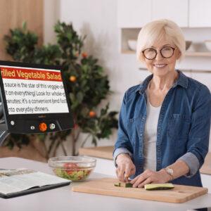 VisuSolution Reveal 16 in der Küche